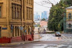 Moscow street Stock Photo