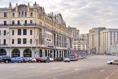 Moscow. Street Teatralnyy proezd Royalty Free Stock Photos