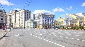 Moscow. Street Theatrical Proyezd Royalty Free Stock Photography