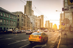 Moscow streets Stock Photography