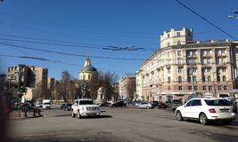 Moscow streets Royalty Free Stock Photography