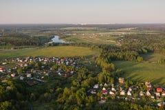 Moscow suburbs Royalty Free Stock Photos