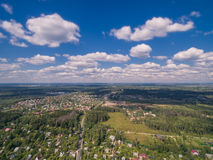 Moscow suburbs in summer royalty free stock images