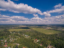 Moscow suburbs in summer Stock Photo