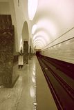 Moscow subway Royalty Free Stock Photography