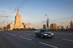 Moscow at sunrise Stock Photography