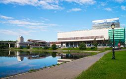 Moscow, television centre of Ostankino Stock Photography