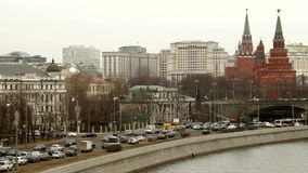 Moscow, time lapse stock footage