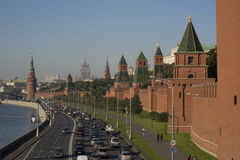 Moscow today Royalty Free Stock Photo