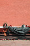 Moscow. Tomb of the Unknown Soldier. Eternal fire. royalty free stock photography