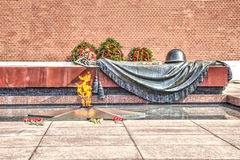 Moscow. Tomb of the Unknown Soldier Stock Image