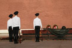The Tomb of the Unknown Soldier stock photography