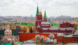 Moscow. top view Stock Images