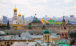 Moscow. top view Royalty Free Stock Image