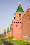 Moscow. Towers of the Kremlin. Stock Photography