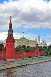 Moscow towers. In Kremlin, Russia Stock Image
