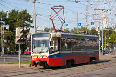 Moscow tram Stock Photo