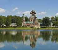 Moscow, Trinity church in Ostankino Royalty Free Stock Images