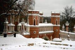 moscow tsaritsino Fotografia Royalty Free