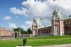 MOSCOW, TSARITSINO. Palace of queen Ekaterina Second Great in Tsaritsino, Moscow, Russia Stock Photography