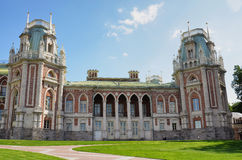 MOSCOW, TSARITSINO. Palace of queen Ekaterina Second Great in Tsaritsino, Moscow, Russia Stock Images