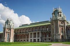 MOSCOW, TSARITSINO. Palace of queen Ekaterina Second Great in Tsaritsino; Moscow; Russia Stock Photography