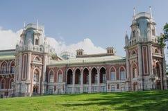 MOSCOW, TSARITSINO. Palace of queen Ekaterina Second Great in Tsaritsino, Moscow, Russia Royalty Free Stock Photos