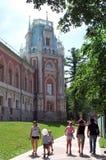 moscow Tsaritsyno parkerar Royaltyfri Fotografi