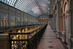 Moscow, TSUM. Central universal store in Moscow Royalty Free Stock Photo