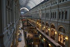 Moscow, TSUM. Central universal store in Moscow Stock Photography