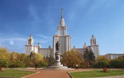 The Moscow University royalty free stock photography