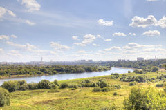 Moscow. Urban landscape Royalty Free Stock Photography