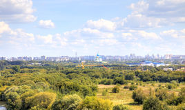 Moscow. Urban landscape Royalty Free Stock Images