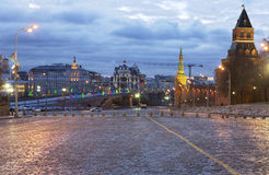 Moscow. Vasilevsky descent. Royalty Free Stock Photography
