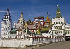 Moscow, vernisage Izmaylovo Stock Image