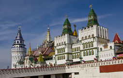 Moscow, vernisage Izmaylovo Royalty Free Stock Photos