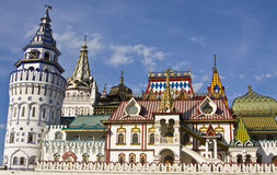 Moscow, vernisage Izmaylovo Royalty Free Stock Images