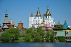 Moscow, vernisage in Izmaylovo Royalty Free Stock Photography