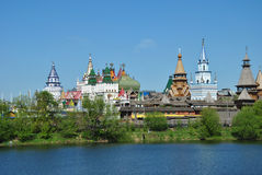Moscow, vernisage in Izmaylovo Royalty Free Stock Photos