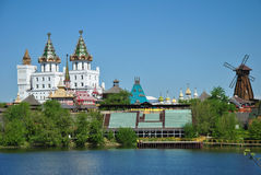 Moscow, vernisage in Izmaylovo Royalty Free Stock Photo