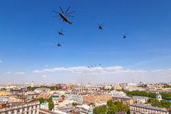 Moscow Victory day parade Royalty Free Stock Photography
