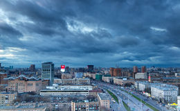 Moscow. View from above. Stock Photos
