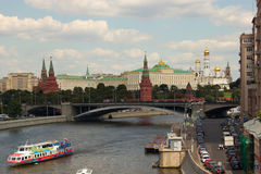 Moscow, view of the Kremlin. Russia Stock Photo