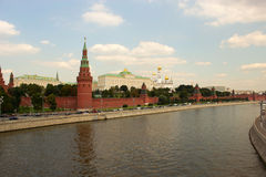 Moscow, view of the Kremlin. Russia Stock Photography