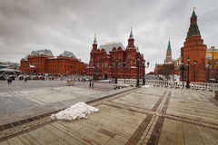 Moscow, view of the Red Square. Stock Images