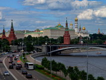 Moscow. Views of the Kremlin and Moscow river Stock Photo