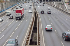 Moscow views of the Third Ring Road Stock Photo