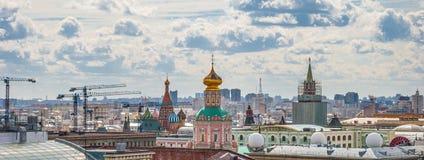 moscow Vista superior imagem de stock