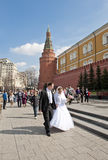 Moscow wedding Stock Photo