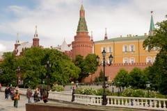 moscow Widok Kremlin/ zdjęcia royalty free